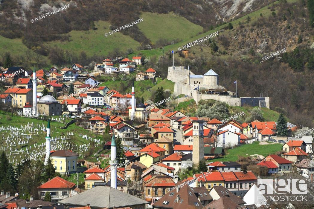 Stock Photo: Travnik, Central Bosnia Canton, Bosnia and Herzegovina.