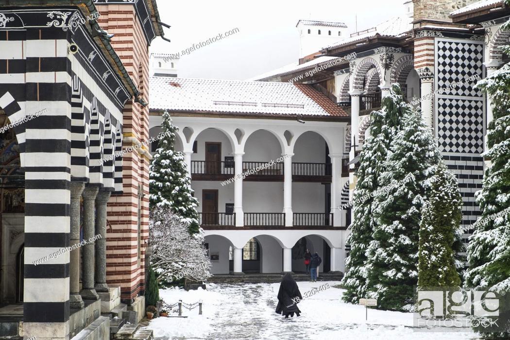 Imagen: Bulgaria, Rila Monastery.