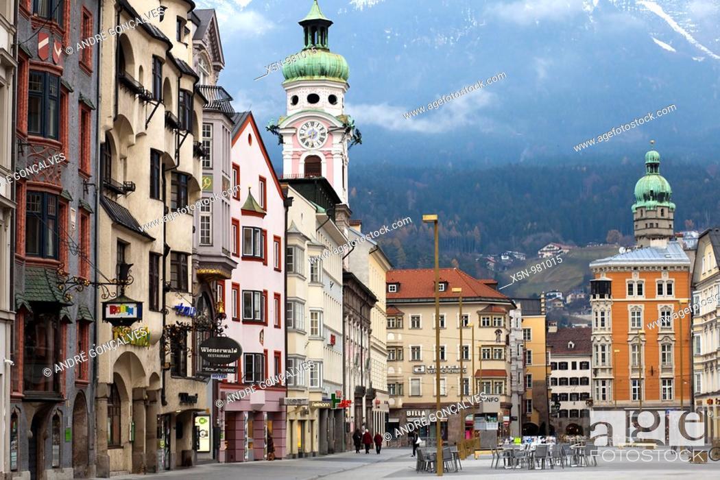 Stock Photo: Innsbruck, Austria.