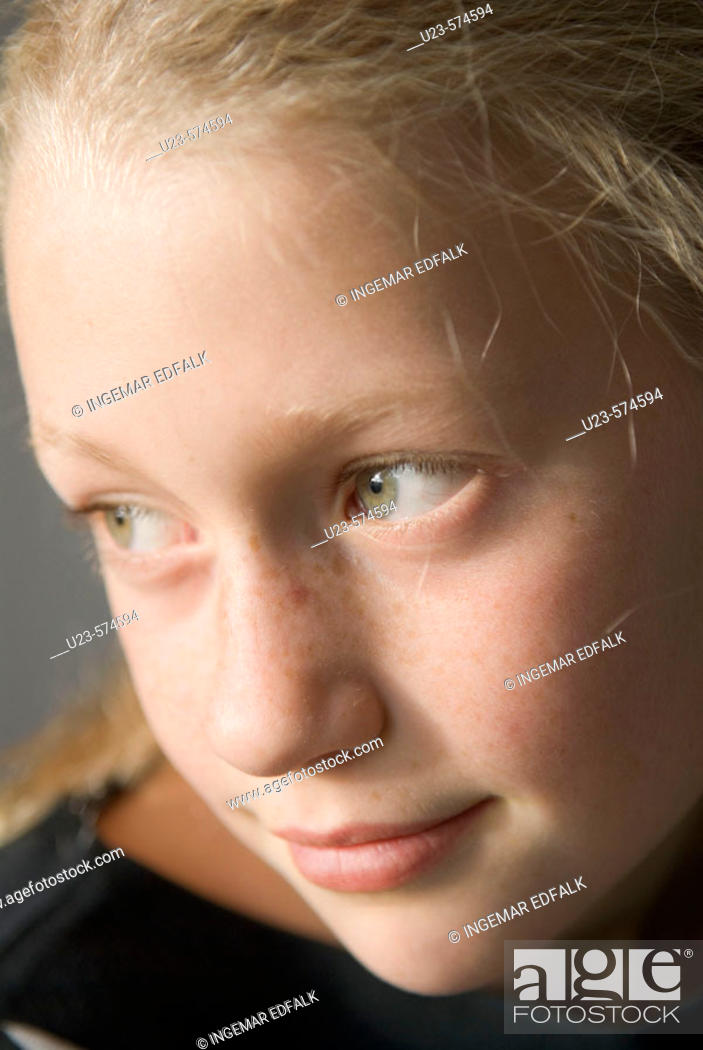 Stock Photo: Young girl.