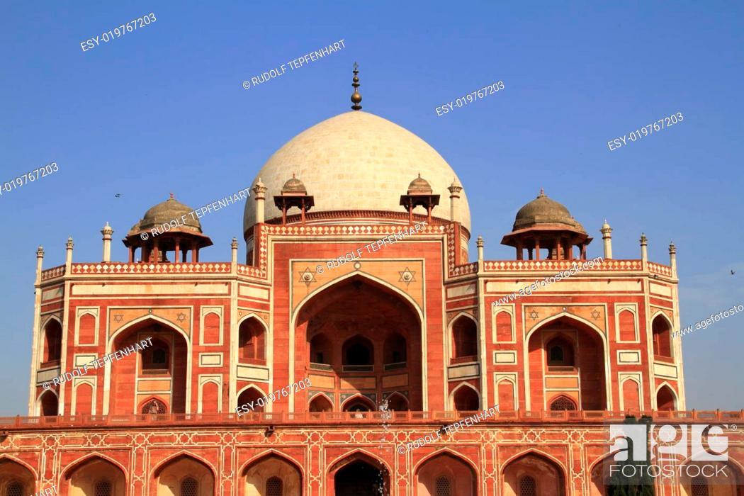 Imagen: Humayun's Tomb.