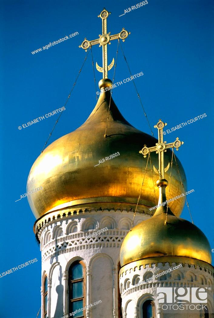 Stock Photo: Russia - Moscow - Annunciation Church.