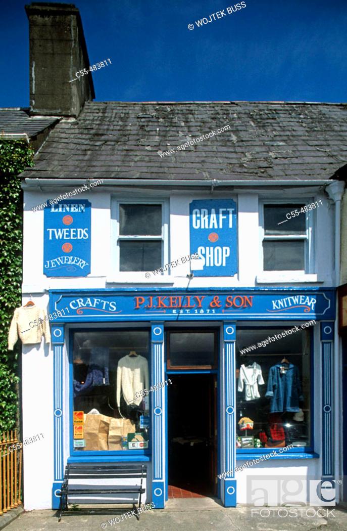 Stock Photo: Westport. Co. Mayo. Ireland.