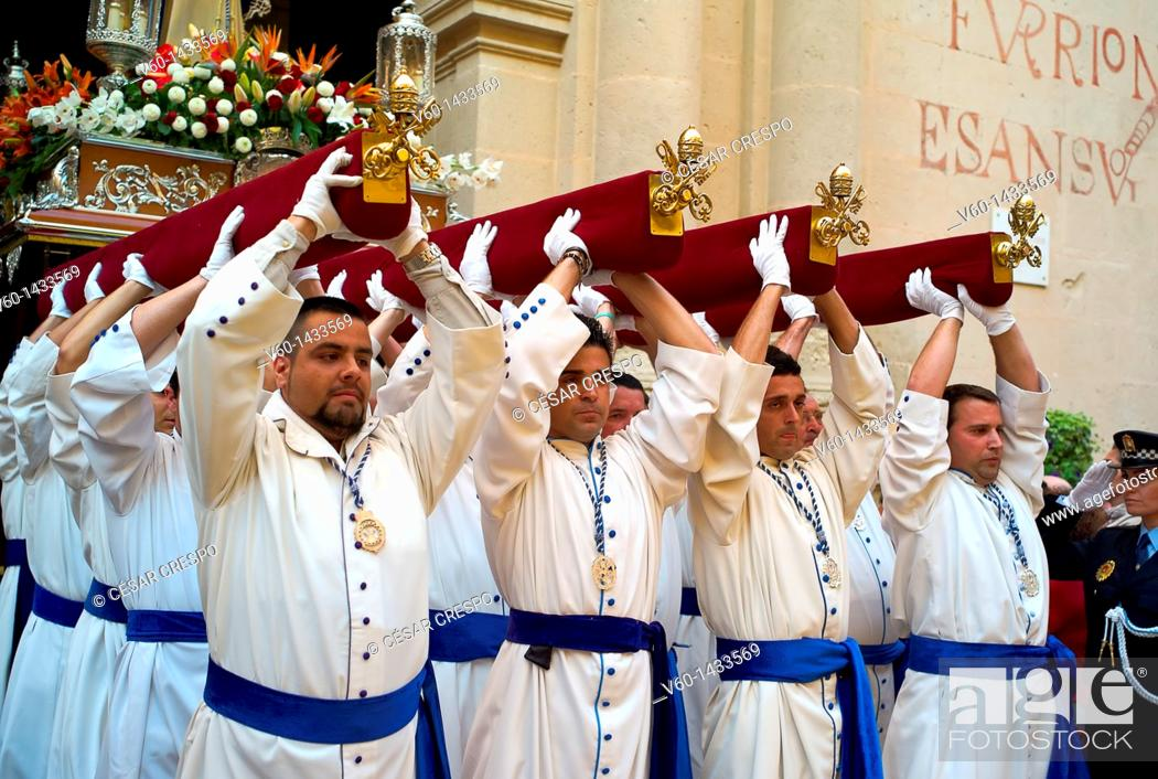 Stock Photo: -Holy Week in Alicante- Valencian Comunity, Spain.