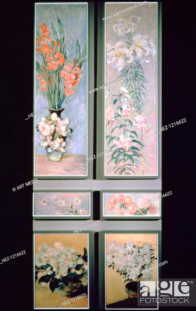 Stock Photo: 'Set of door panels', 1884-1885. From a private collection.