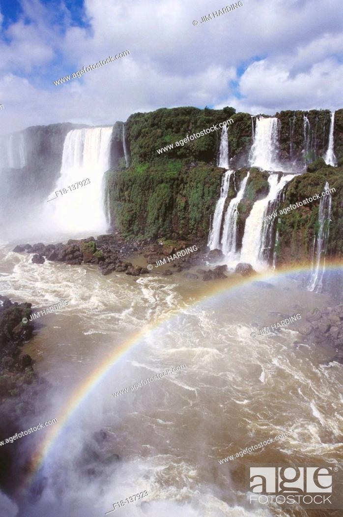 Stock Photo: Iguazu River Falls. Argentina.