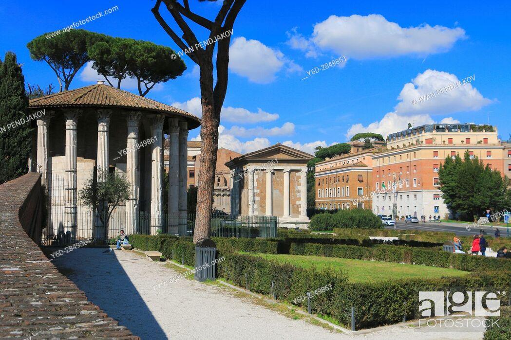 Stock Photo: Tempio di Ercole Vincitore.