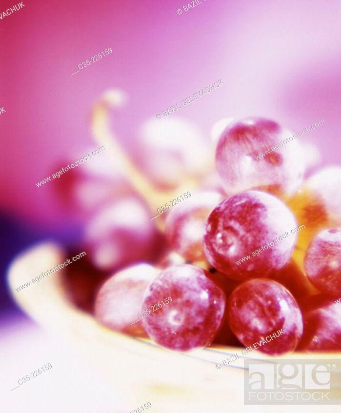 Stock Photo: Grapes.