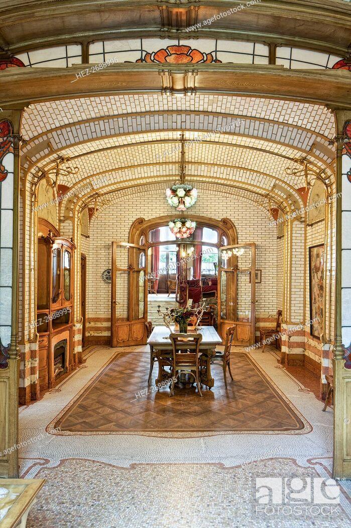 Maison Atelier Horta (Horta Museum), 23-25 Rue Americaine ...