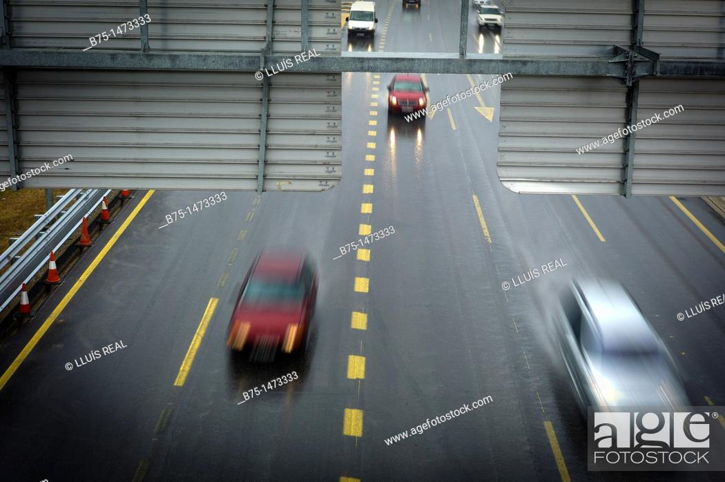 Stock Photo: Traffic.