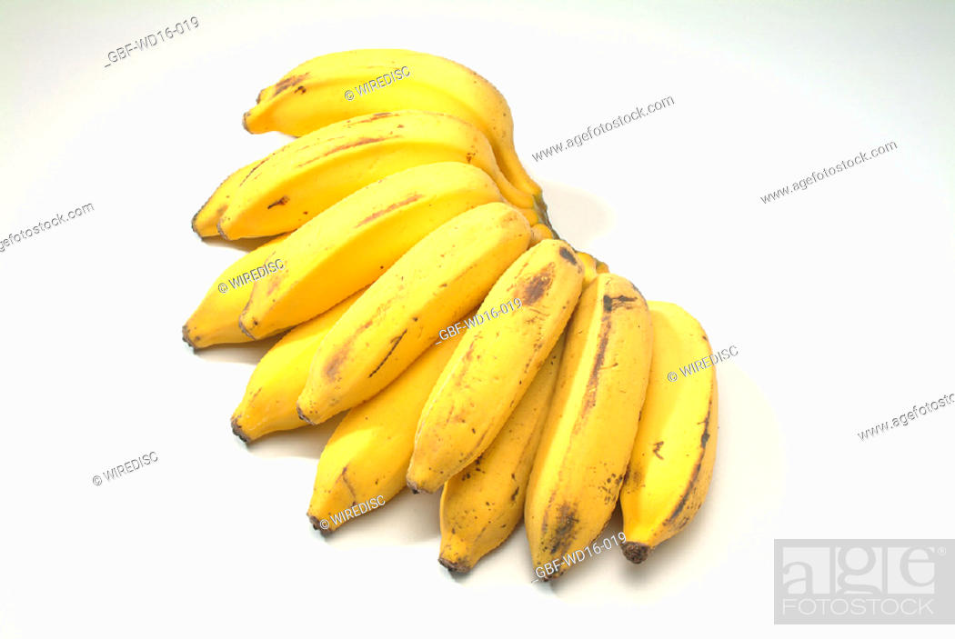 Stock Photo: Food, fruit, banana.