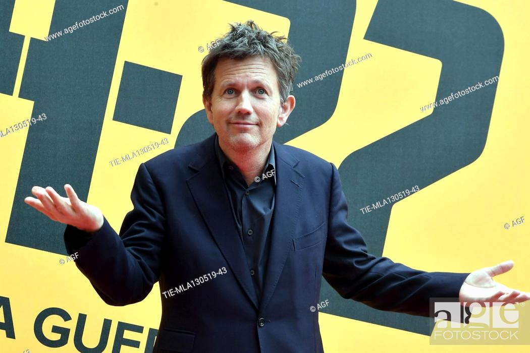 Stock Photo: Richard Brown during 'Catch-22' TV show photocall, Rome, Italy - 13 May 2019.
