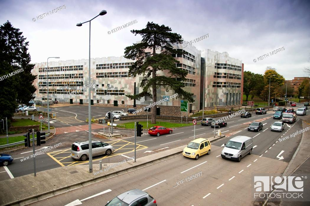 Stock Photo: The headquarters of the WJEC Welsh Joint Education Committee, Cardiff, Wales UK.