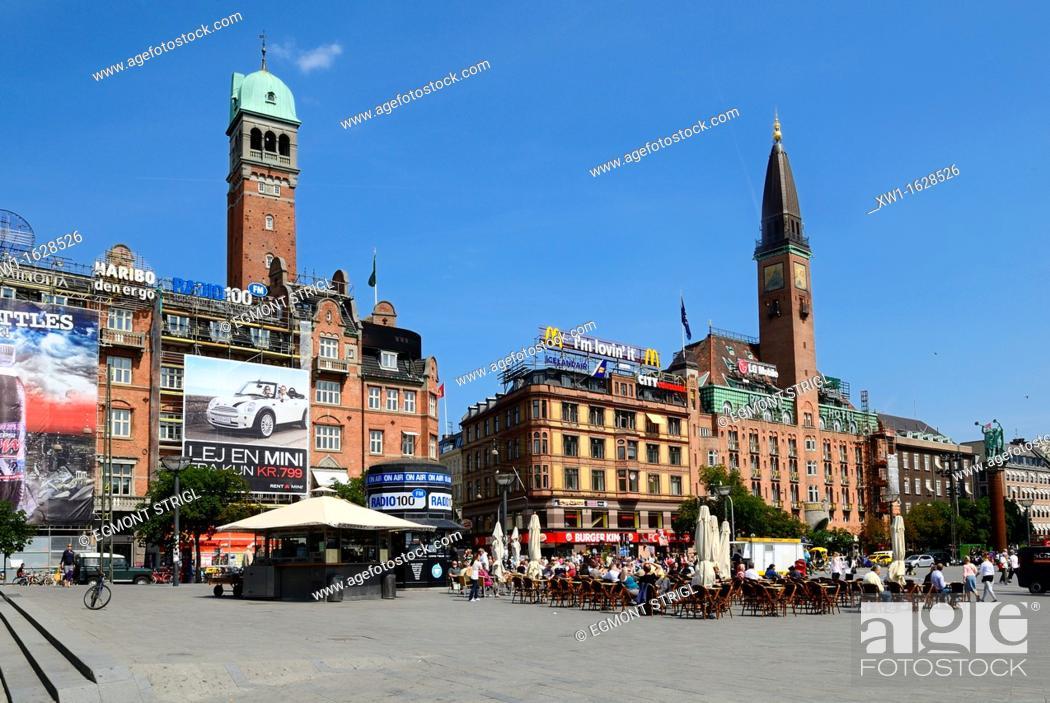 Imagen: Radhus Pladsen, Copenhagen, Danmark, Scandinavia, Europe.