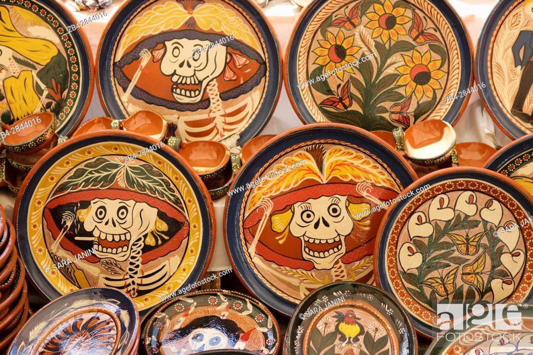 Stock Photo: Patzcuaro, Estado de Michoacán, México, América.