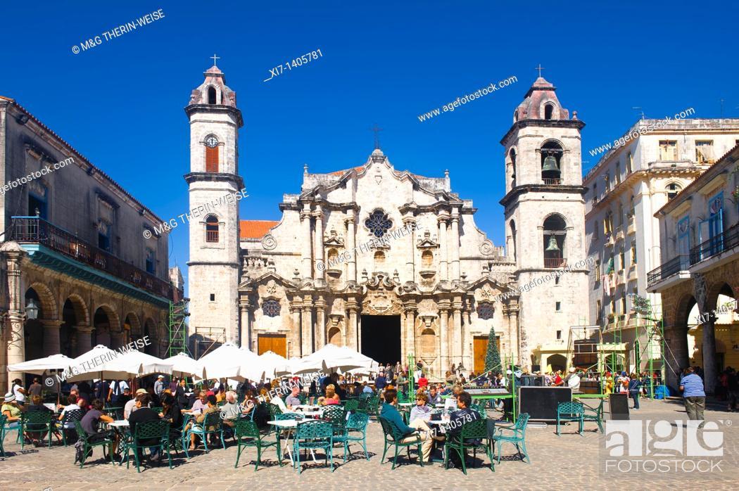 Imagen: Cathedral, Havana old City, Cuba, Unesco World Heritage Site.