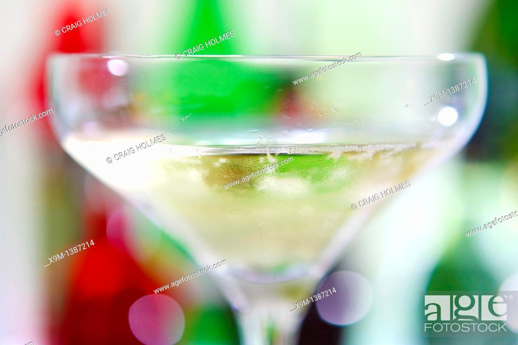 Stock Photo: Beverage of champagne.