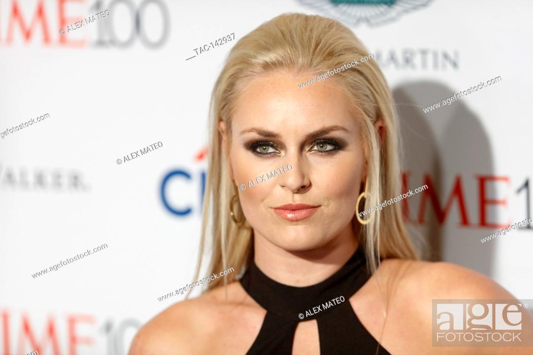 Stock Photo: Lindsey Vonn attends the 2017 Time 100 Gala at Jazz at Lincoln Center on April 25, 2017 in New York City.