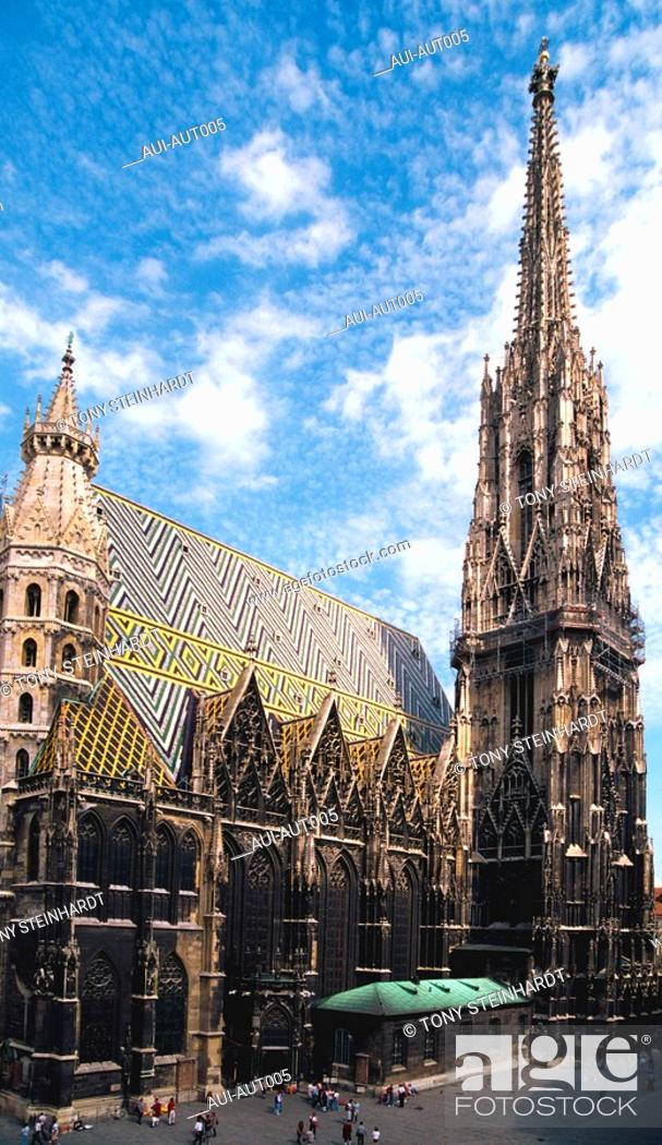 Stock Photo: Austria - Vienna - St Stephan Cathedral.