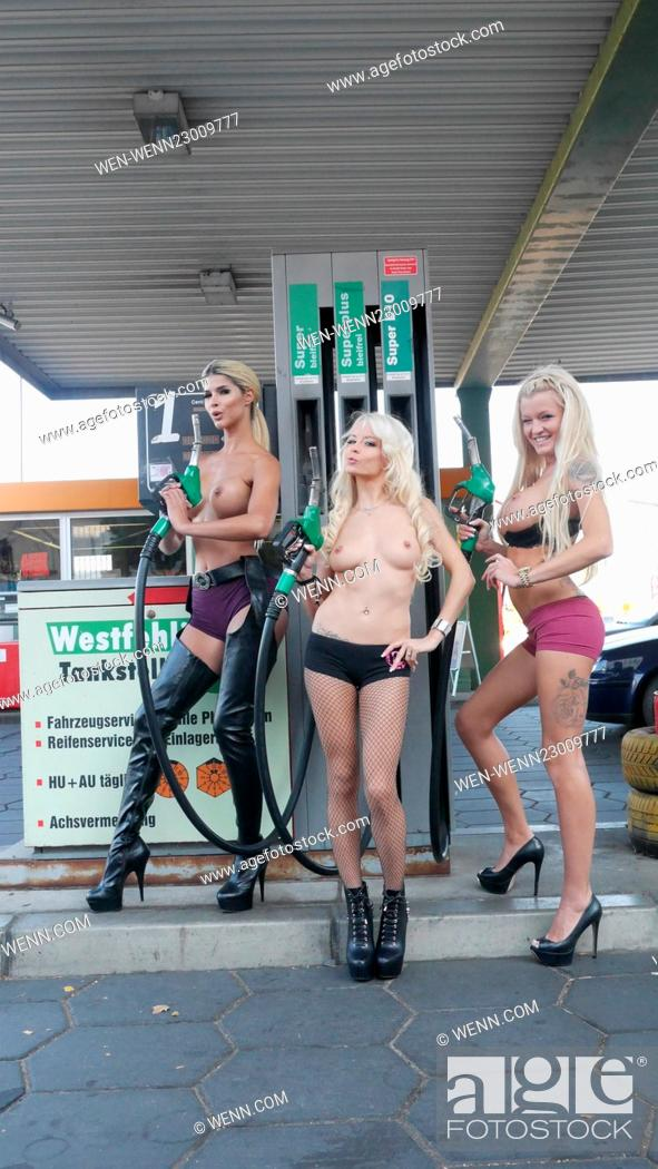 Really. naked girl pumping gas apologise