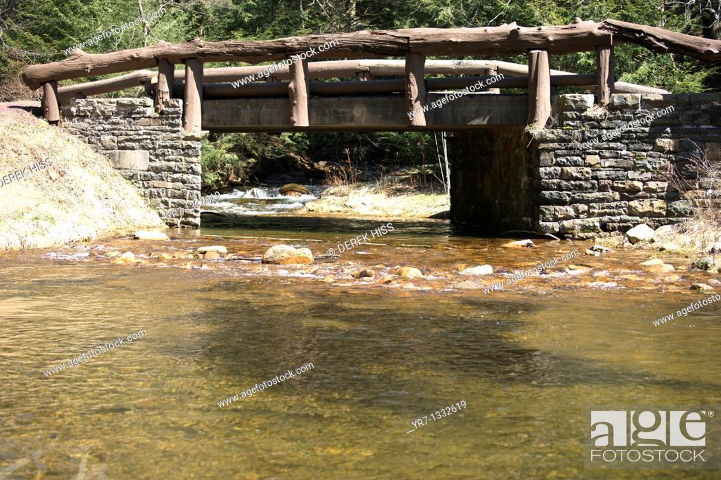 Stock Photo: River runs thru it, Pennsylvania.