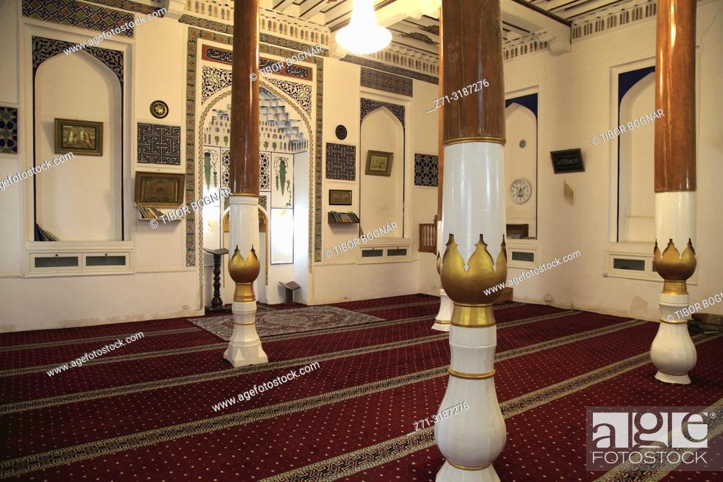 Imagen: Uzbekistan, Samarkand, Khodja Nisbatdor Mosque, interior, .