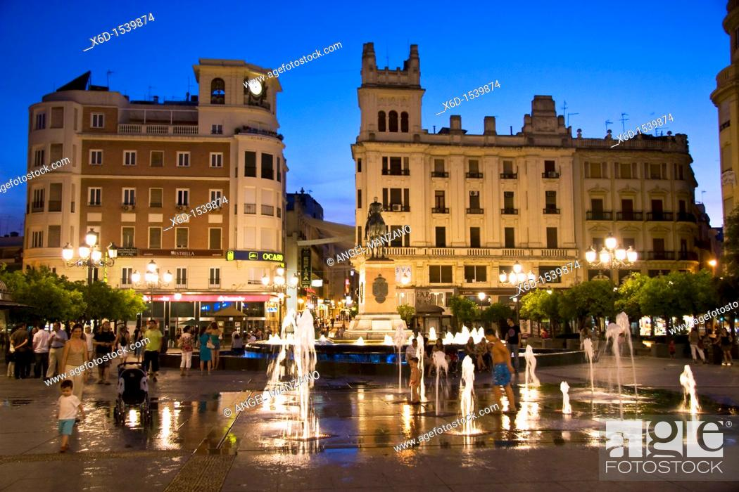 Stock Photo: Las Tendillas square, Cordoba.