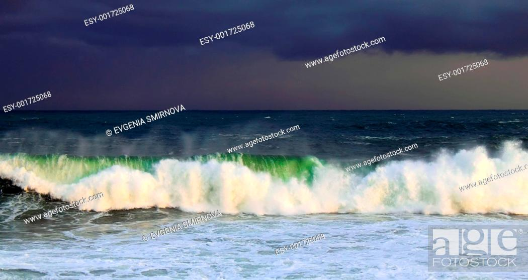 Stock Photo: Ocean Storm.