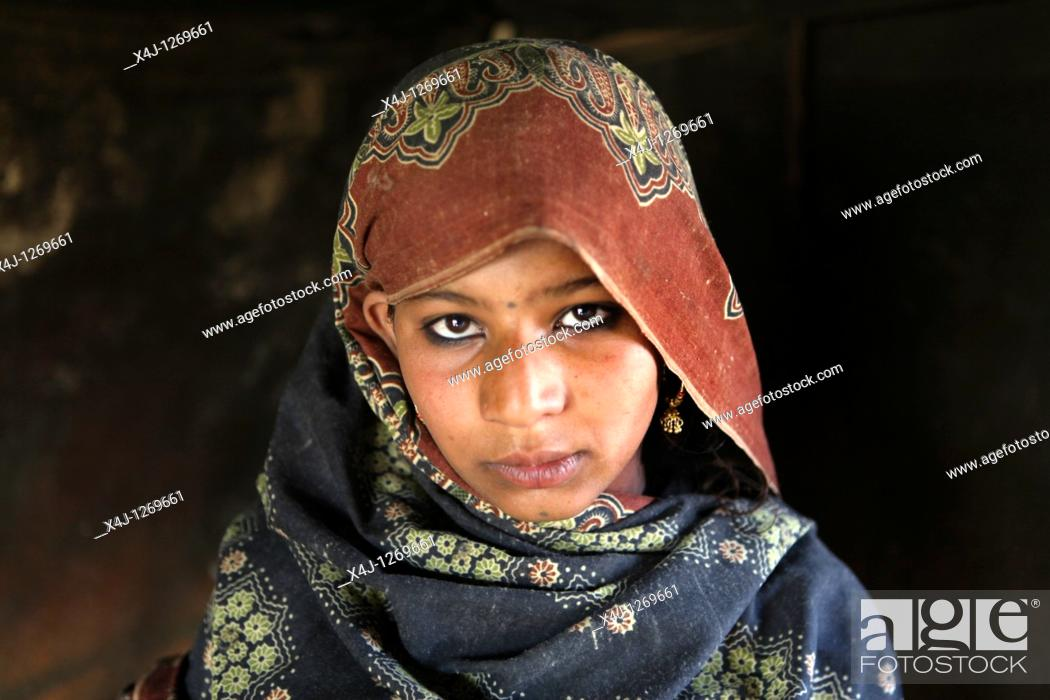 Stock Photo: floodvictims, 3 months after the disaster in pakistan.