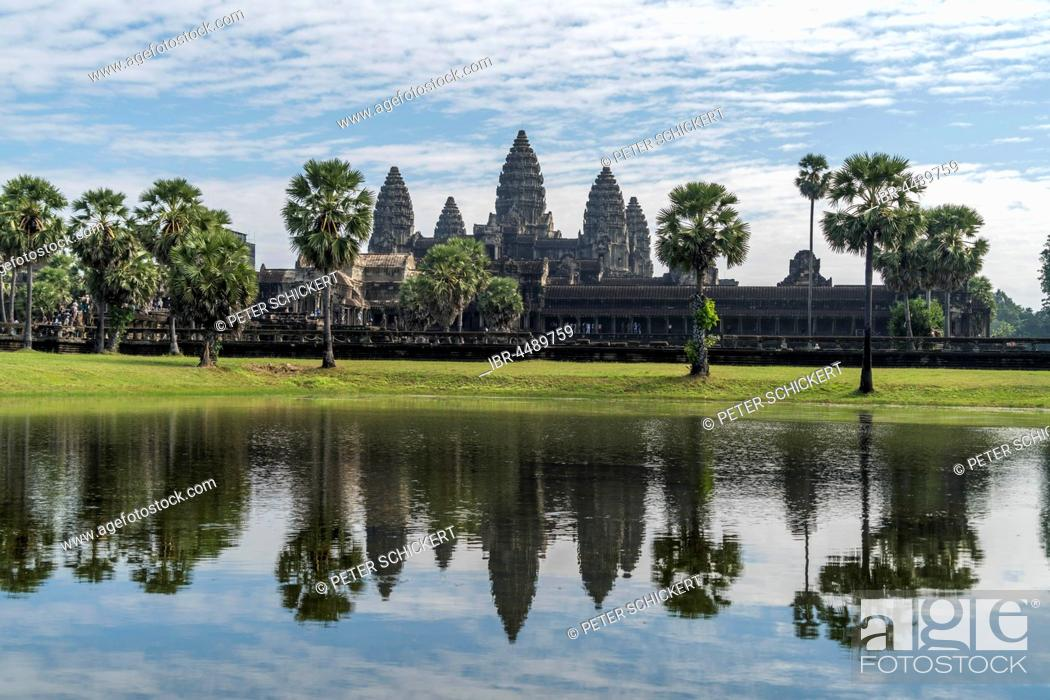 Stock Photo: Angkor Wat, Cambodia.