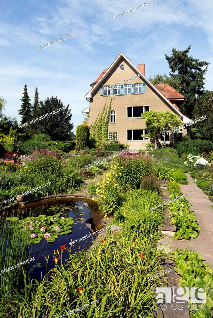 Potsdam Bornim Karl Foerster Garten Stock Photo Picture And