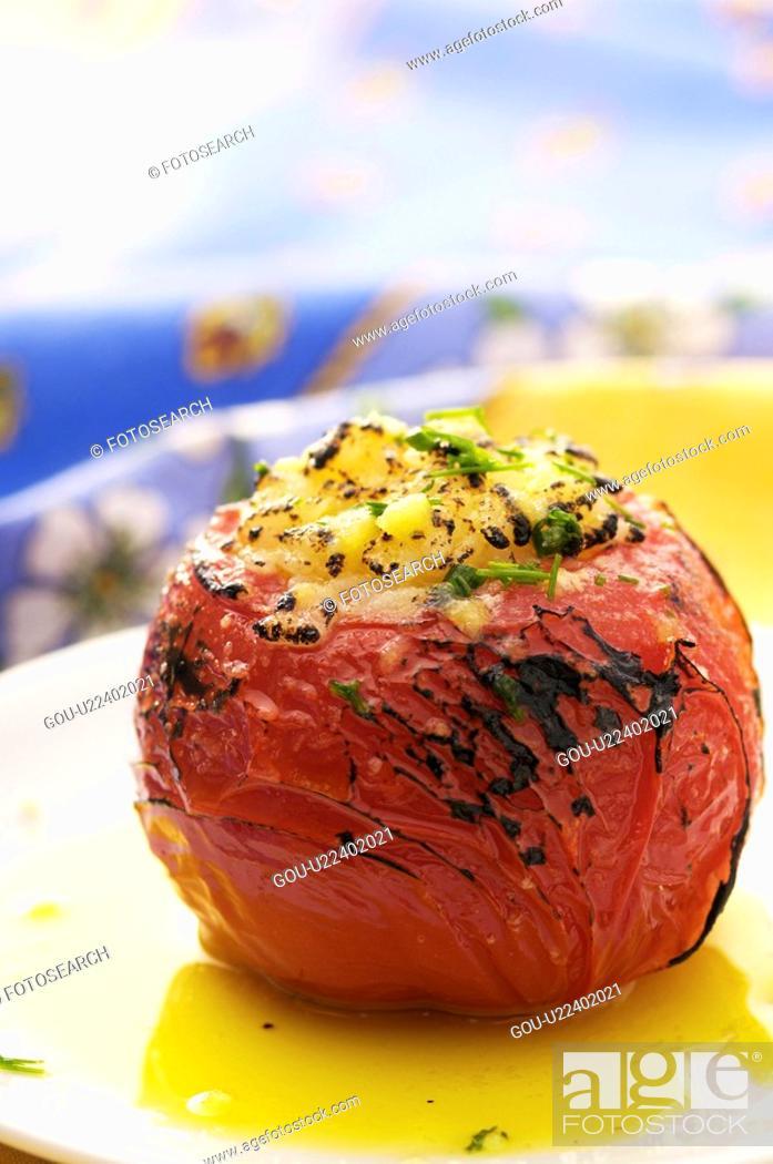 Stock Photo: Tomato.