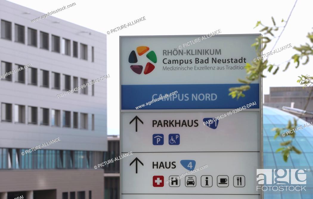 23 April 2019 Bavaria Bad Neustadt An Der Saale A Part Of