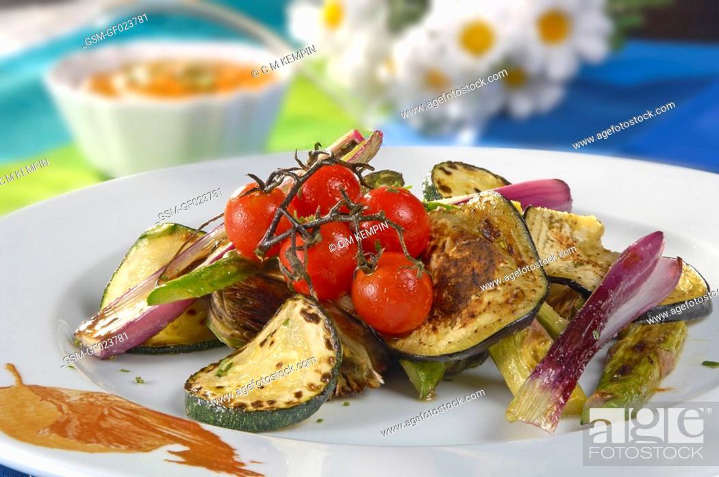 Imagen: Grilled vegetables.