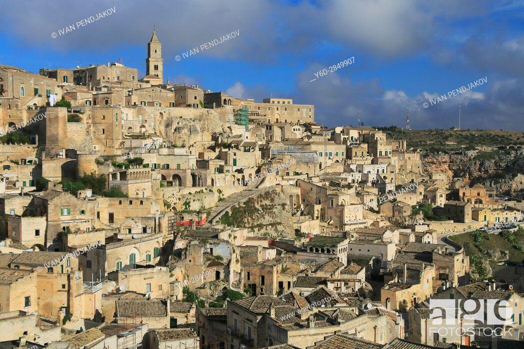 Imagen: Matera, Italy.
