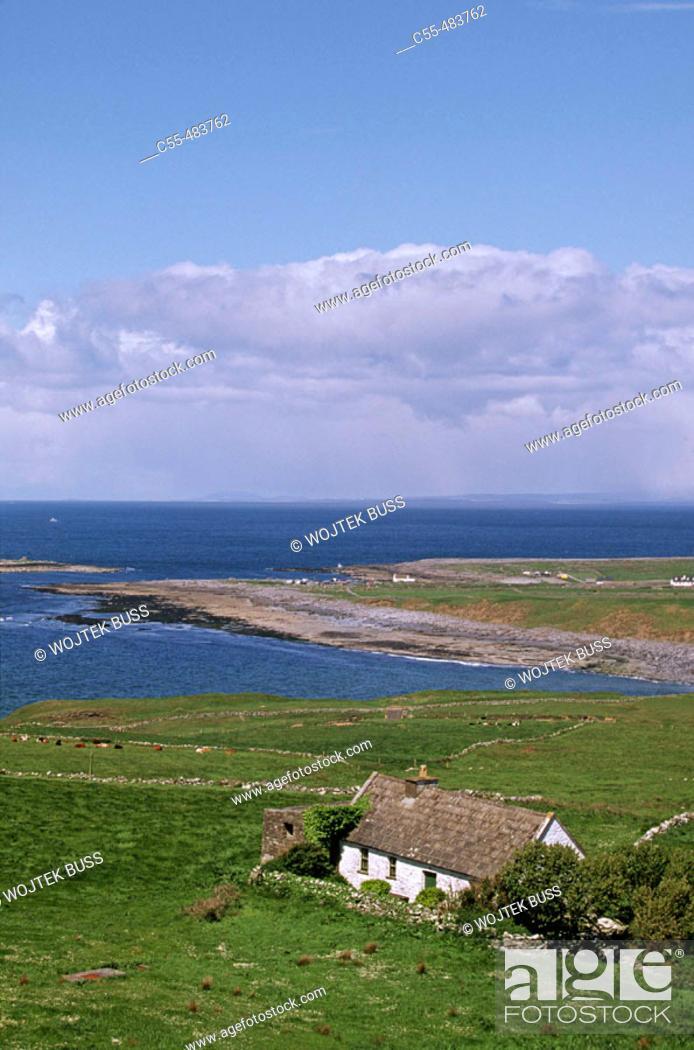 Stock Photo: Doolin. Co. Clare. Ireland.