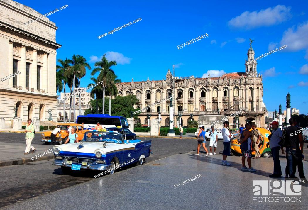 Stock Photo: Grand Theater of Havana.