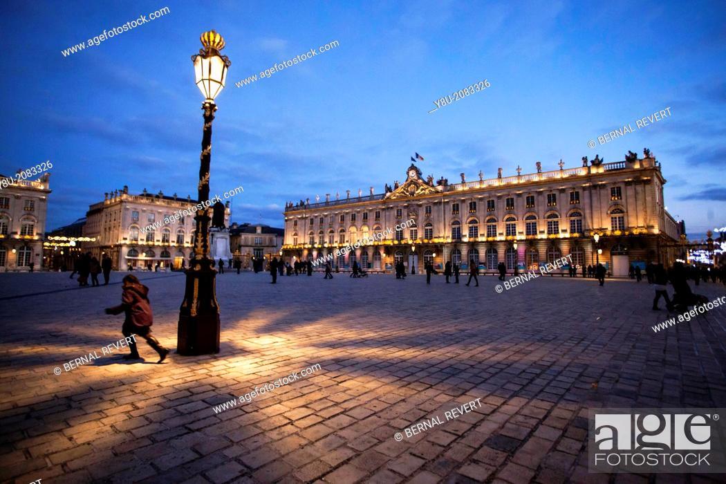 Stock Photo: Place Stanislas in Nancy.