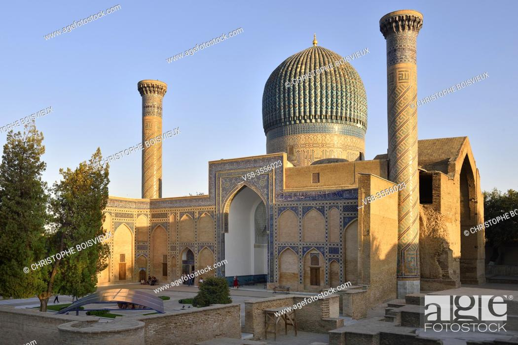 Imagen: Uzbekistan, Unesco World Heritage Site, Samarkand, Gur-e-Amir mausoleum.