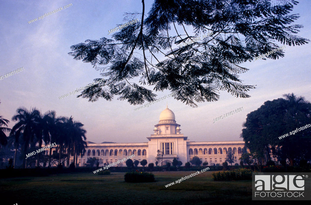 Stock Photo: The Supreme Court of Bangladesh, in the capital city Dhaka.