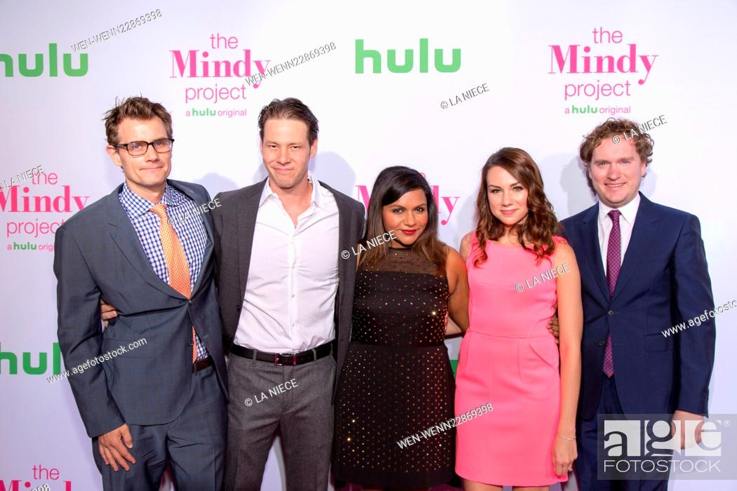 Premiere Of Hulu S The Mindy Project Arrivals Featuring Charlie