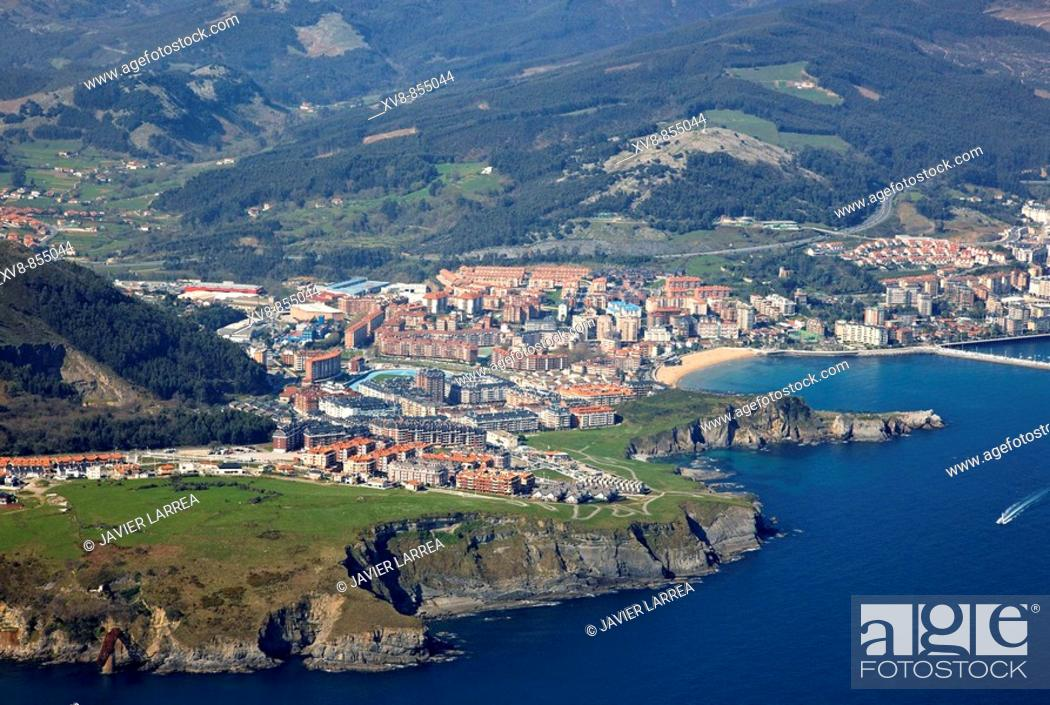 Stock Photo: Castro Urdiales, Cantabria, Spain.