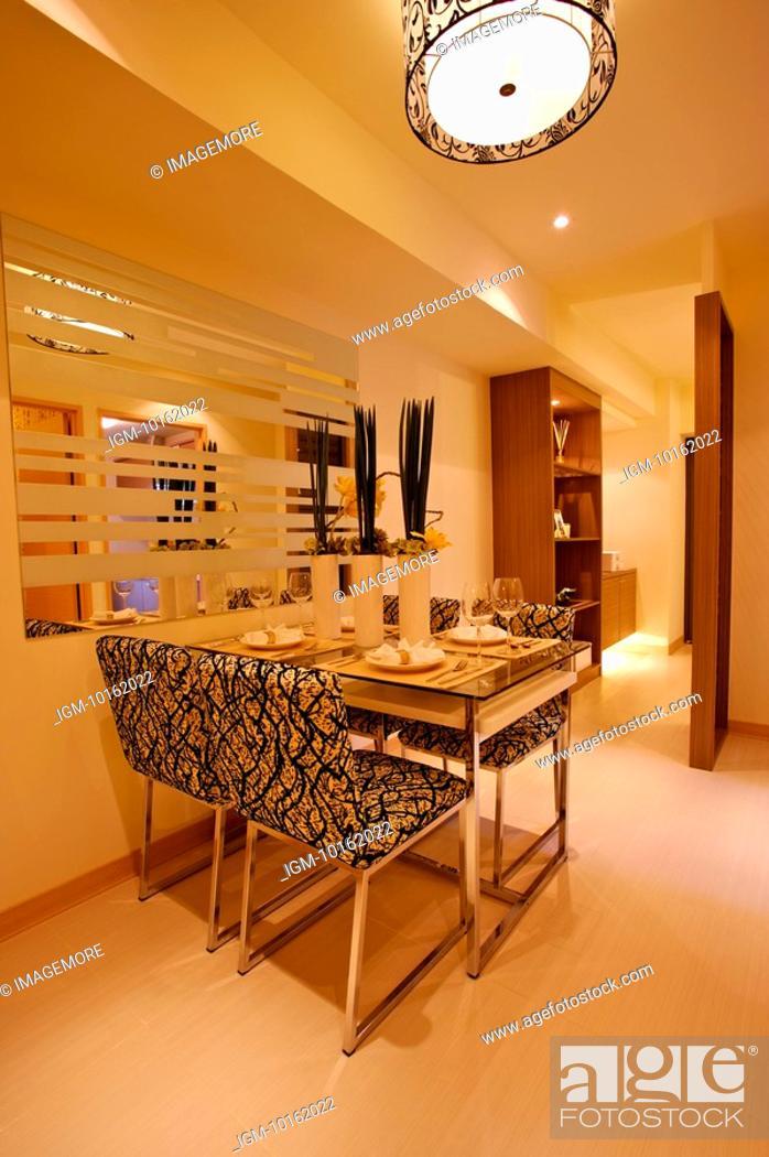 Stock Photo: Modern Interior Design - Dining Room.