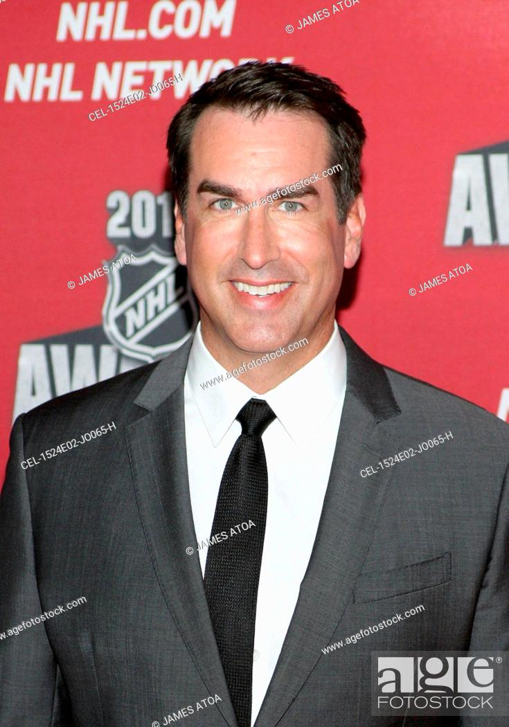 Rob Riggle At Arrivals For 2015 National Hockey League Nhl Awards