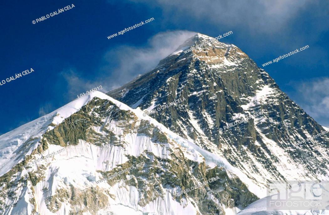 Imagen: Mount Everest. Khumbu Valley. Nepal.