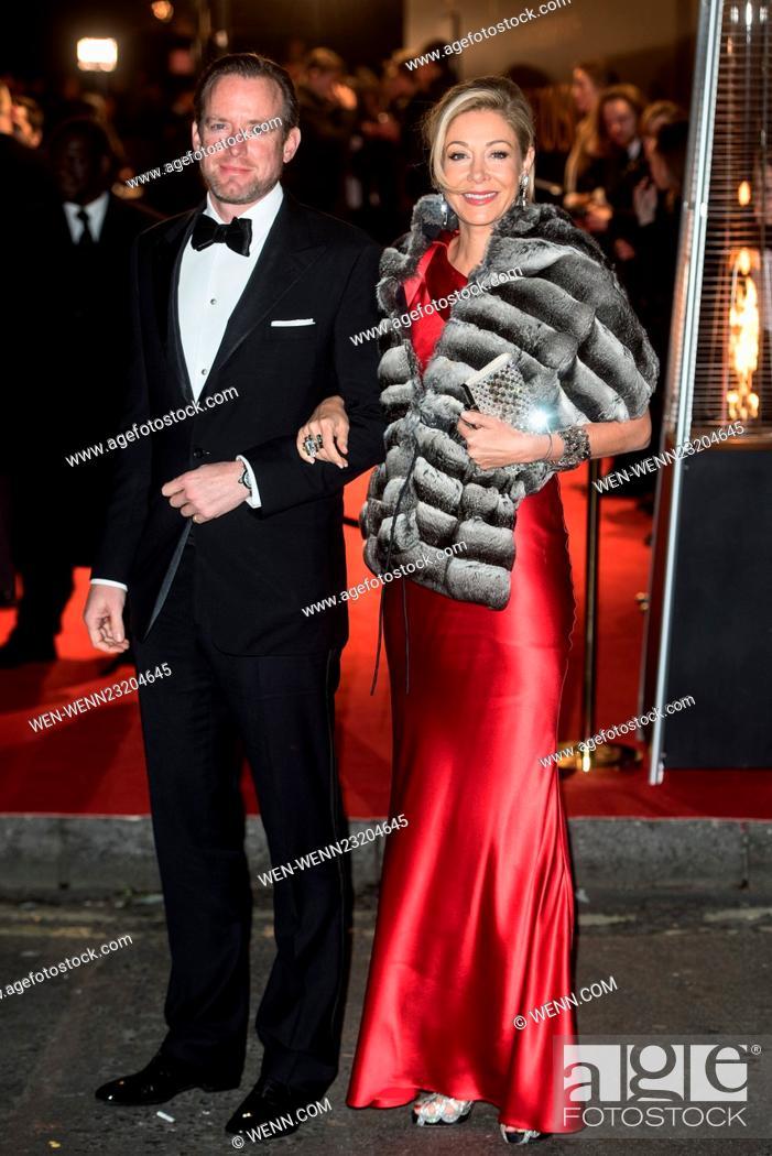 c9f962b88 Stock Photo - British Fashion Awards held at the Coliseum - outside  arrivals. Featuring: Nadja Swarovski, Rupert Adams Where: London, United  Kingdom When: ...