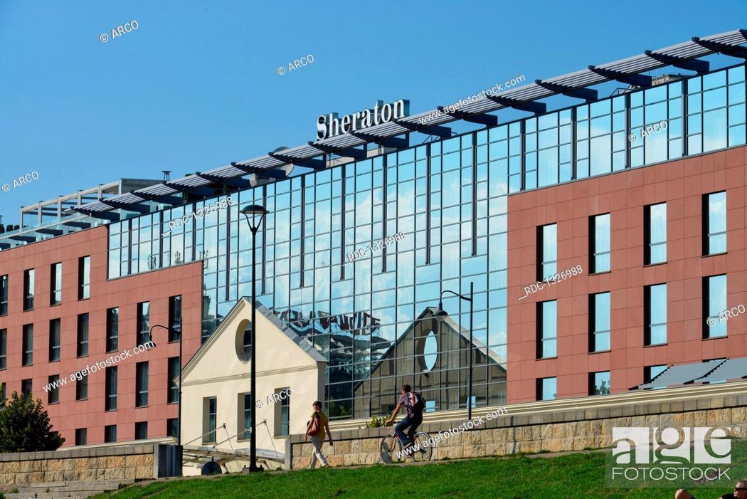 Hotel Sheraton Powisle Krakau Polen Stock Photo Picture And