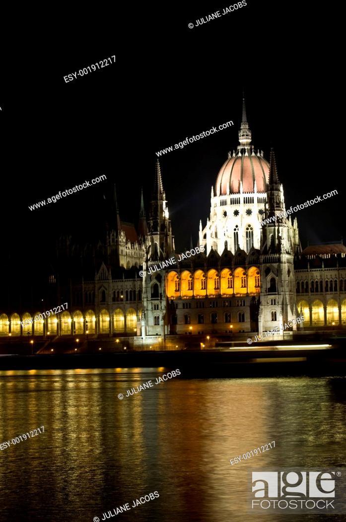 Stock Photo: Hungarian Parliament.