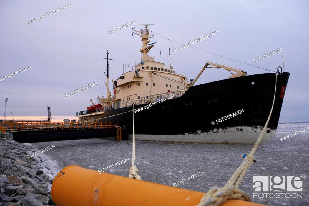 Stock Photo: Finland, Ice-Breaker.