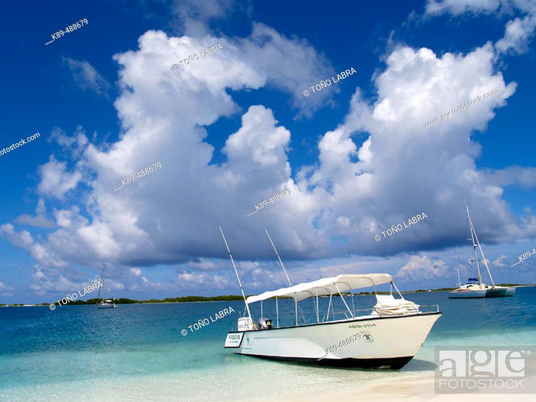 Stock Photo: Los Roques beach. Venezuela.
